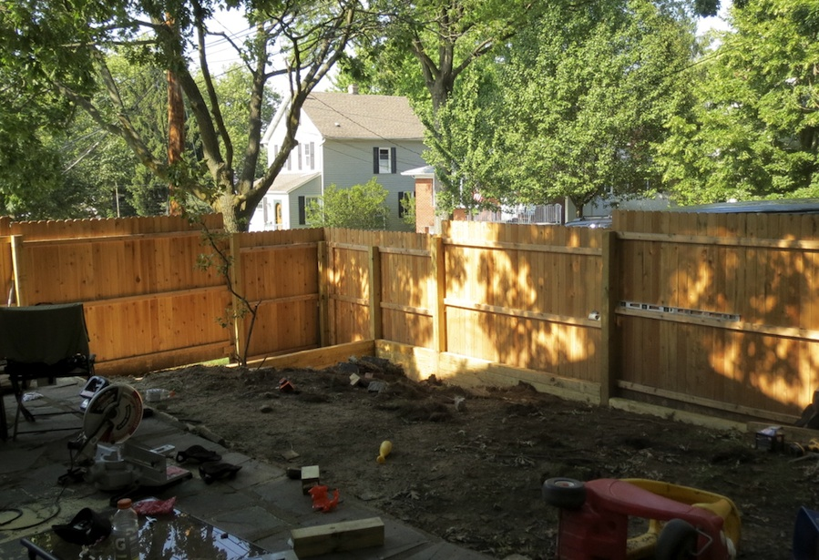 fence and retaining wall construction
