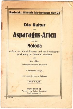 Asparagus-Arten