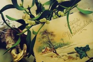 Mistletoe Merry Christmas frohe weihnachten poc