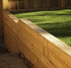 retaining wall astro turf sld